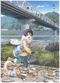 Yuru Camp△ (1ª Temporada) - Poster / Capa / Cartaz - Oficial 8