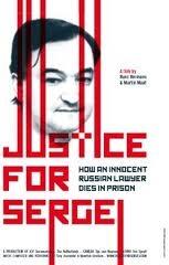 Justiça para Sergei - Poster / Capa / Cartaz - Oficial 1