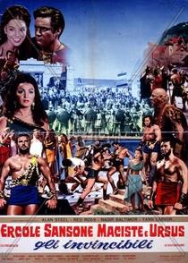 Hércules, Sansão, Maciste e Ursus, Os Invencíveis - Poster / Capa / Cartaz - Oficial 3