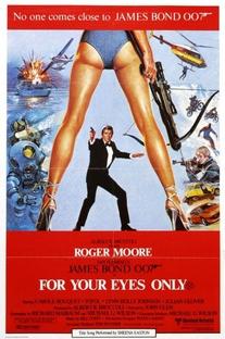 007 - Somente Para Seus Olhos - Poster / Capa / Cartaz - Oficial 5