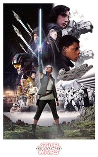 Star Wars: Os Últimos Jedi - Poster / Capa / Cartaz - Oficial 5