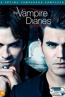 The Vampire Diaries (7ª Temporada) - Poster / Capa / Cartaz - Oficial 2