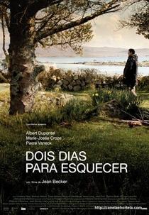 Dois Dias Para Esquecer - Poster / Capa / Cartaz - Oficial 1