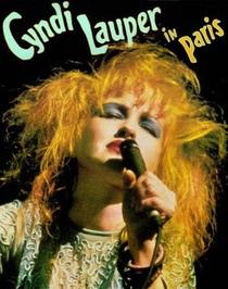 Cyndi Lauper - Live In Paris - Poster / Capa / Cartaz - Oficial 1