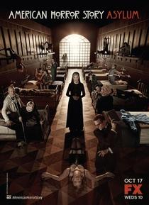 American Horror Story: Asylum (2ª Temporada) - Poster / Capa / Cartaz - Oficial 1