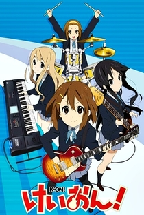 K-On! (1ª Temporada) - Poster / Capa / Cartaz - Oficial 1