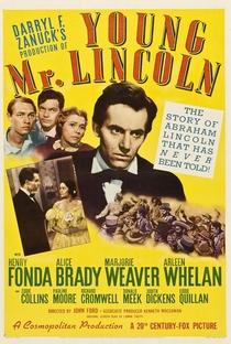 A Mocidade de Lincoln - Poster / Capa / Cartaz - Oficial 3