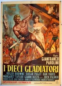 Os Dez Gladiadores - Poster / Capa / Cartaz - Oficial 1