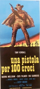 Sartana, Uma Pistola e 100 Cruzes - Poster / Capa / Cartaz - Oficial 2