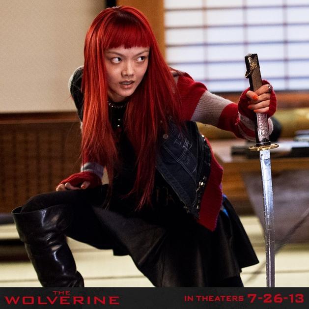 """Veja Rila Fukushima como Yukio em """"Wolverine – Imortal"""""""
