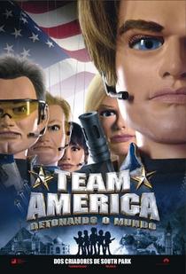 Team America - Detonando o Mundo - Poster / Capa / Cartaz - Oficial 1