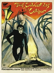 O Gabinete do Dr. Caligari - Poster / Capa / Cartaz - Oficial 2