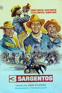 Os Três Sargentos - Poster / Capa / Cartaz - Oficial 2