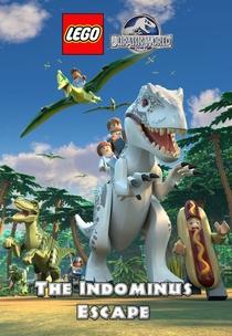 LEGO Jurassic World – A Fuga do Indominus Rex - Poster / Capa / Cartaz - Oficial 1