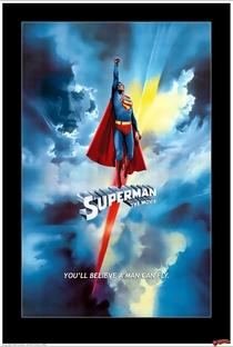 Superman: O Filme - Poster / Capa / Cartaz - Oficial 1