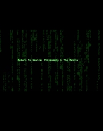 Return to Source: Philosophy & 'The Matrix' - Poster / Capa / Cartaz - Oficial 3