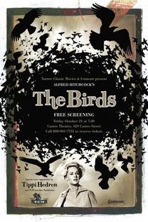 Os Pássaros - Poster / Capa / Cartaz - Oficial 2