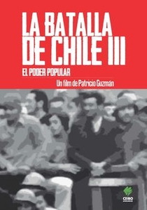 A Batalha do Chile - Terceira Parte: O Poder Popular - Poster / Capa / Cartaz - Oficial 1