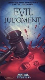 Evil Judgment - Poster / Capa / Cartaz - Oficial 1