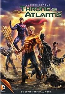 Liga da Justiça: Trono de Atlantis - Poster / Capa / Cartaz - Oficial 1