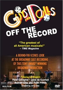 Guys and Dolls- Off the Record - Poster / Capa / Cartaz - Oficial 1