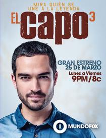 El Capo (3ª Temporada) - Poster / Capa / Cartaz - Oficial 1