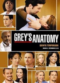 Grey's Anatomy (5ª Temporada) - Poster / Capa / Cartaz - Oficial 1