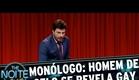"""The Noite (24/04/15) - Monólogo: Personagem do """"X-Men', Homem de Gelo revela ser gay"""