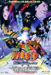 Naruto 1: Confronto Ninja no País da Neve! - Poster / Capa / Cartaz - Oficial 1