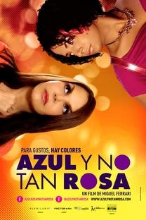 Azul e Não Tão Rosa - Poster / Capa / Cartaz - Oficial 3