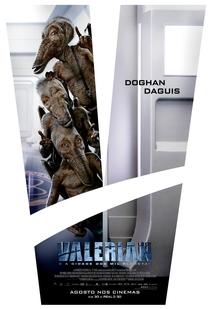 Valerian e a Cidade dos Mil Planetas - Poster / Capa / Cartaz - Oficial 5