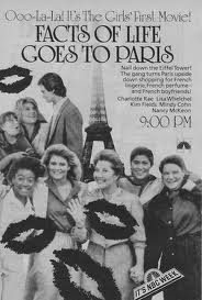 The Facts of Life Goes to Paris - Poster / Capa / Cartaz - Oficial 1
