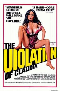 A Violação de Cláudia - Poster / Capa / Cartaz - Oficial 1