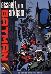 Batman: Ataque ao Arkham - Poster / Capa / Cartaz - Oficial 1