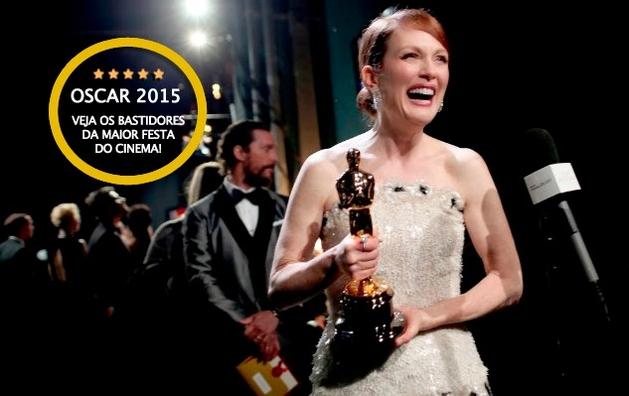 Oscars 2015 - Veja o que aconteceu nos bastidores da maior festa do cinema internacional