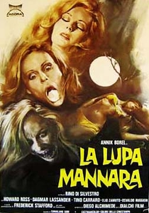 Werewolf Woman - Poster / Capa / Cartaz - Oficial 1