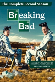 Breaking Bad (2ª Temporada) - Poster / Capa / Cartaz - Oficial 1