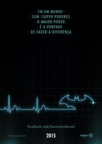 Herói na Vida Real - Poster / Capa / Cartaz - Oficial 3