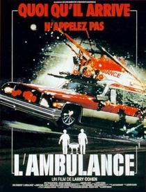 A Ambulância - Poster / Capa / Cartaz - Oficial 3