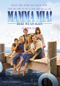 Mamma Mia! Lá Vamos Nós de Novo - Poster / Capa / Cartaz - Oficial 6