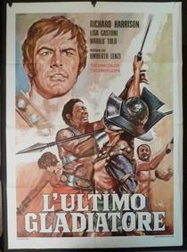 O último gladiador - Poster / Capa / Cartaz - Oficial 1