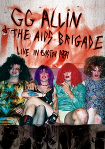 GG Allin & The AIDS Brigade: Live In Boston - Poster / Capa / Cartaz - Oficial 1