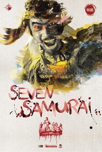 Os Sete Samurais - Poster / Capa / Cartaz - Oficial 7