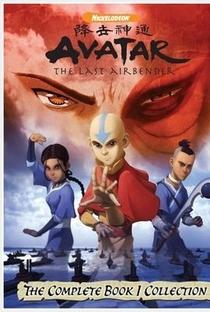 Avatar: A Lenda de Aang (1ª Temporada) - Poster / Capa / Cartaz - Oficial 1