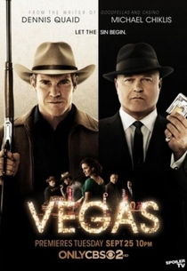 Vegas (1ª Temporada) - Poster / Capa / Cartaz - Oficial 2