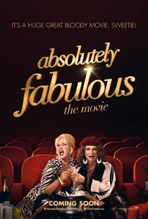 Absolutely Fabulous: O Filme - Poster / Capa / Cartaz - Oficial 2