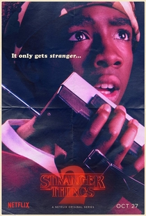 Stranger Things (2ª Temporada) - Poster / Capa / Cartaz - Oficial 10