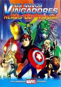 Os Novos Vingadores: Heróis do Amanhã - Poster / Capa / Cartaz - Oficial 2