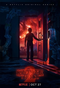 Stranger Things (2ª Temporada) - Poster / Capa / Cartaz - Oficial 3