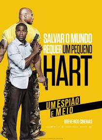Um Espião e Meio - Poster / Capa / Cartaz - Oficial 4